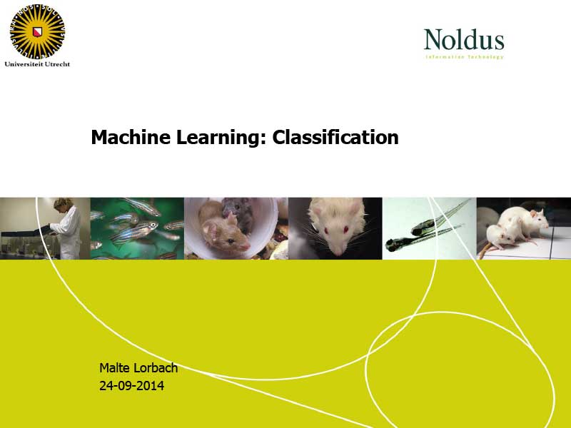 Malte Lorbach | Machine Learning: Classification